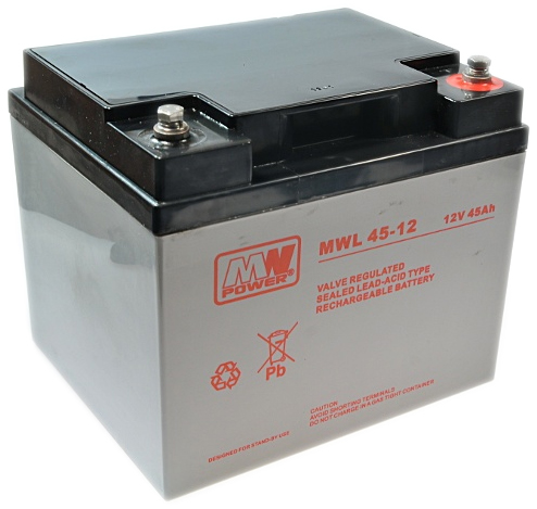 Akumulator MWL 45-12 45Ah 12V Long Life