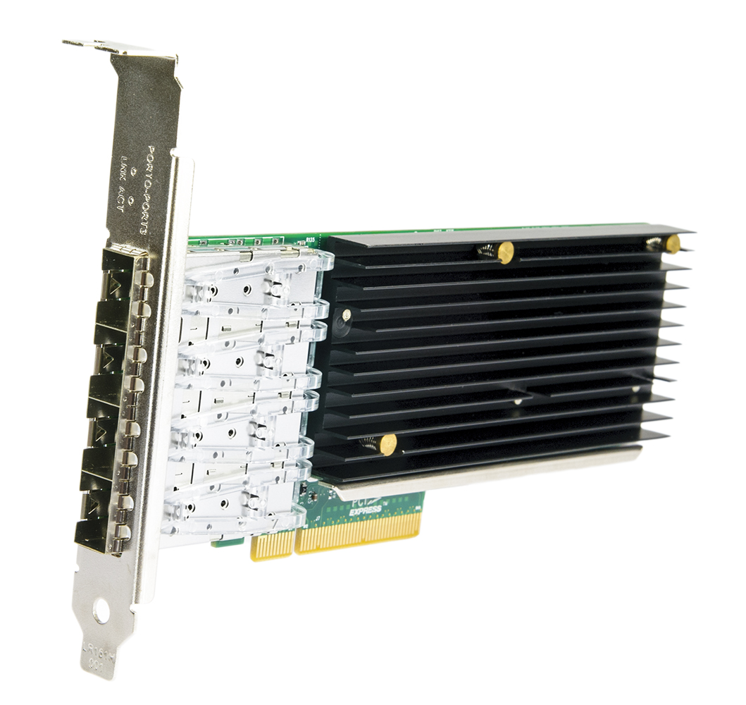 LR-Link LREC9804BF-4SFP+ PCIe x8 Quad Port SFP+ 10Gb/s Server Adapter (Intel XL710)
