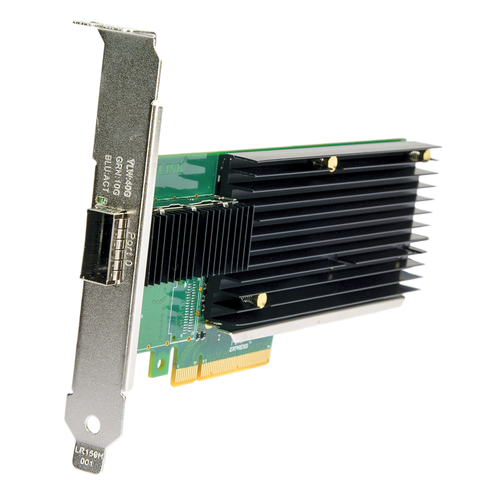 LR-Link LREC9901BF-QSFP+ PCIe x8 Single Port QSFP+ 40Gbps Server Adapter (Intel XL710)