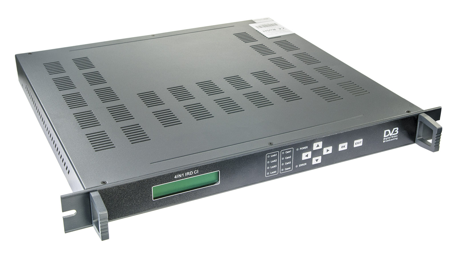 SC-5219 DVB-S/S2 4-channel IRD with CI