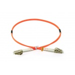 OPTON - PatchCord multimodowy LC-LC 62.5/125um OM1 MM duplex 0,5m