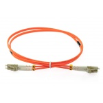 OPTON - PatchCord multimodowy LC-LC 62.5/125um OM1 MM duplex 1m