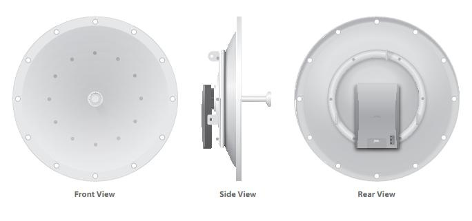 Ubiquiti PowerBridge M10 34dBi 10GHz MIMO